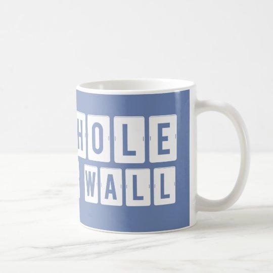 Shithole in the Wall Blue-Grey Mug