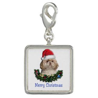 Shitzu christmas gifts charm