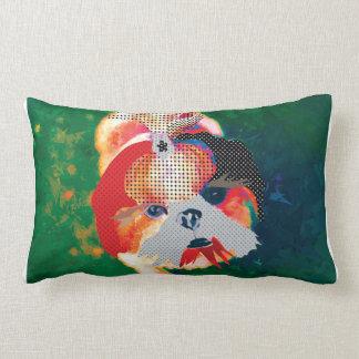 Shitzu Lumbar Pillow