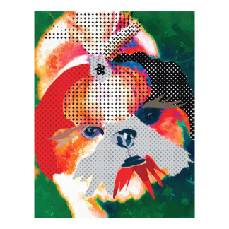Shitzu mania letterhead