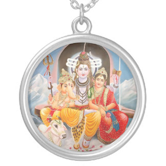 Shiva Family Necklace