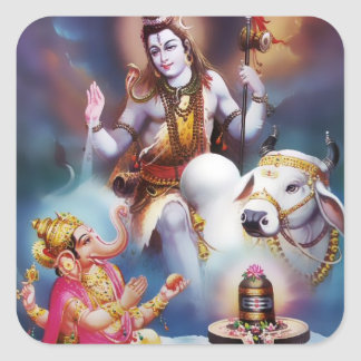Shiva & Ganesha Stickers
