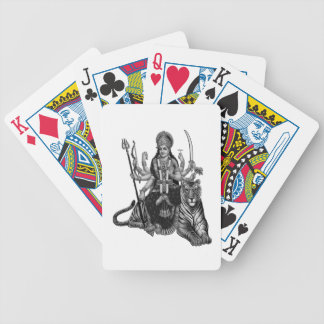 Shiva Goddess Bicycle Playing Cards