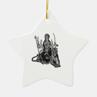 Shiva Goddess Ceramic Ornament