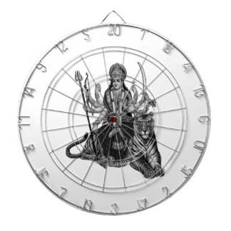 Shiva Goddess Dartboard