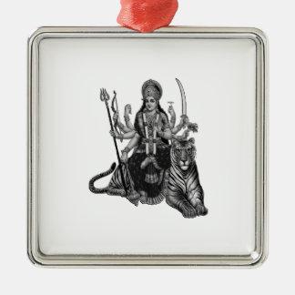 Shiva Goddess Metal Ornament