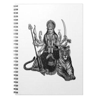 Shiva Goddess Notebook