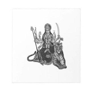 Shiva Goddess Notepad