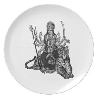 Shiva Goddess Plate