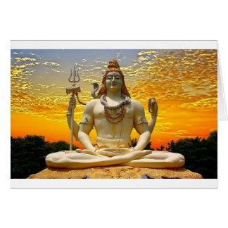 SHIVA HINDU GOD CARD