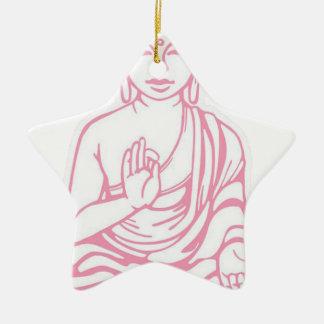 Shiva Let it go Ceramic Star Ornament