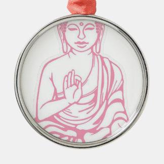 Shiva Let it go Silver-Colored Round Ornament