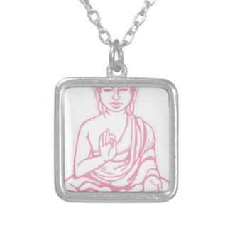 Shiva Let it go Silver Plated Necklace
