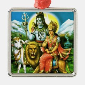 Shiva & Parvati Ornament