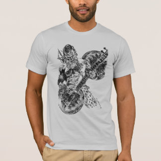 Shiva Playing Sitar T-Shirt