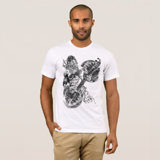 Shiva Playing Sitar tshirt