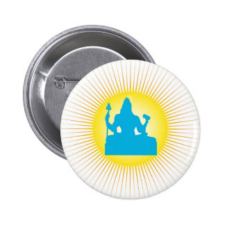 Shiva - The Indian God Pinback Button