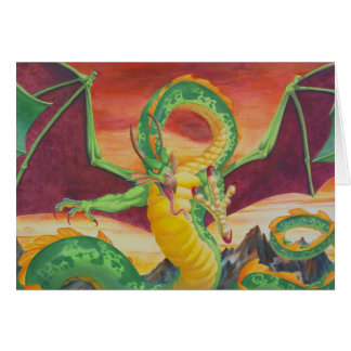 Shivan Dragon Redesign Card