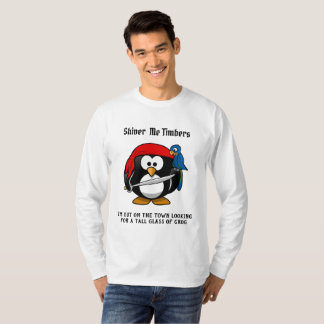 Shiver Me Timbers -- a pirates t-shirt
