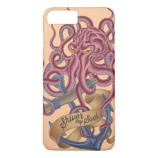 Shiver My Soul | Octopus Tatto iPhone 7 Plus Case