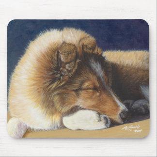 Shltie Shetland Sheepdog Dog Mouse Pad