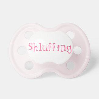 Shluffing Baby Girl Pacifier