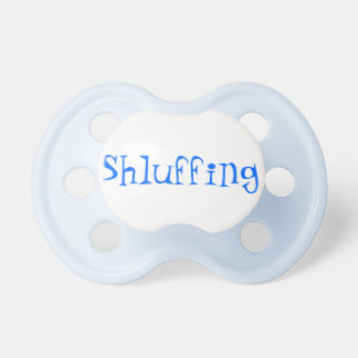 Shluffing Baby Pacifier