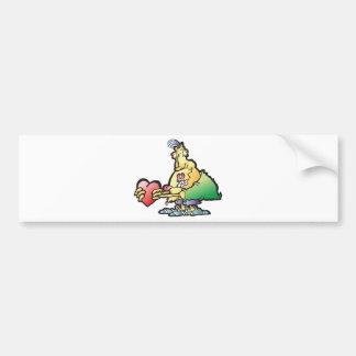 shnoockums-wookums car bumper sticker