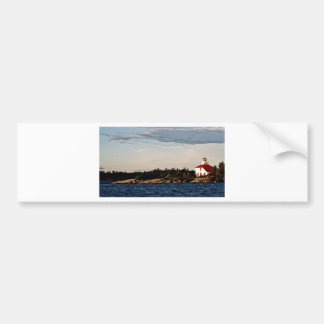 Shoal Island  from St Joseph Bumper Sticker