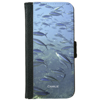 Shoal of Fish. Diving Underwater. Personalise. iPhone 6 Wallet Case