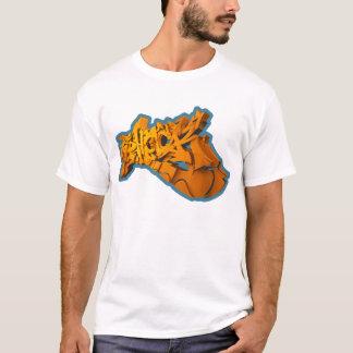 SHOCK 3D (3D-Graffiti on T-shirt) T-Shirt
