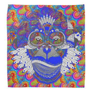 Shock the Monkey Bandana