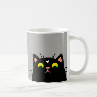 Shocked Kitty Coffee Mug