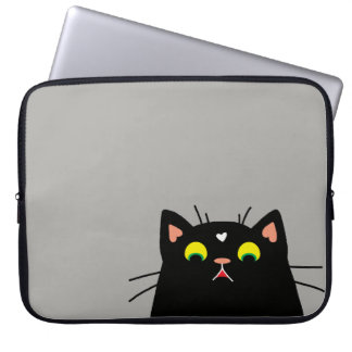 Shocked Kitty Computer Sleeves