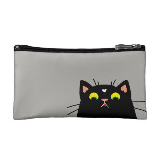 Shocked Kitty Cosmetic Bag