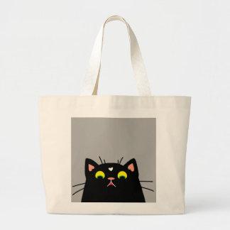Shocked Kitty Large Tote Bag