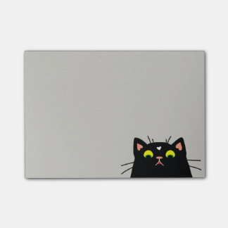 Shocked Kitty Post-it Notes