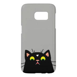 Shocked Kitty Samsung Galaxy S7 Case