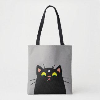 Shocked Kitty Tote Bag