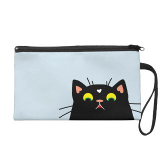 Shocked Kitty Wristlet