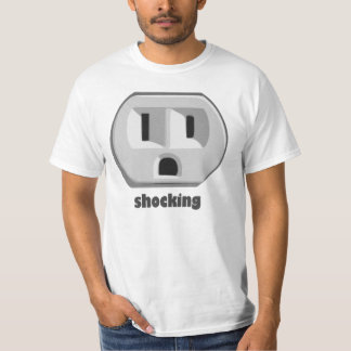 Shocking Electricity Wall Outlet T-Shirt