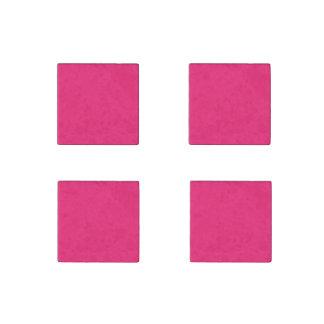 Shocking Pink Stone Magnet