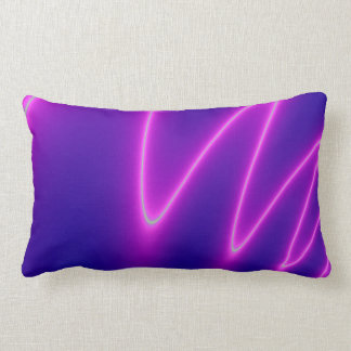 Shocking Pink Lightening Lumbar Pillow