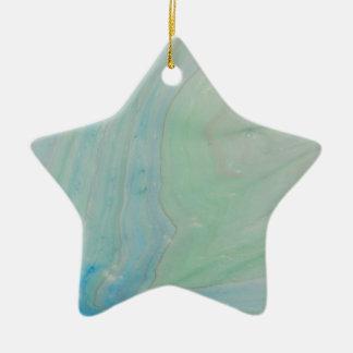 Shockwave Ceramic Star Ornament