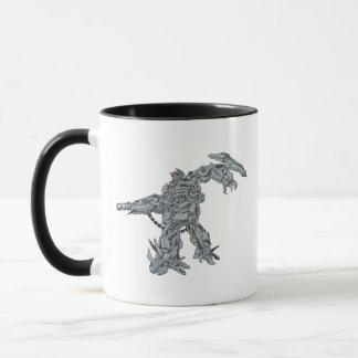Shockwave Line Art 2 Mug