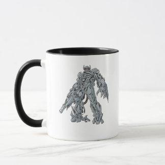 Shockwave Line Art 3 Mug