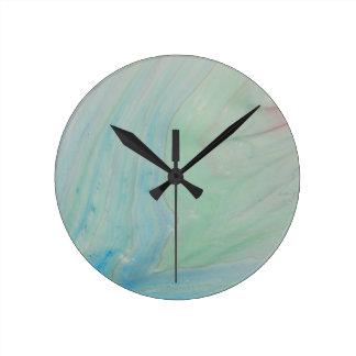 Shockwave Round Clock