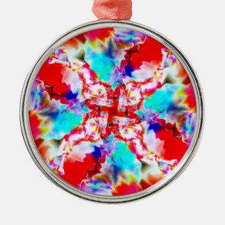 Shockwave Silver-Colored Round Ornament