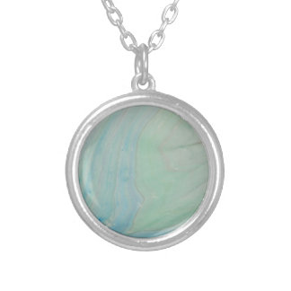 Shockwave Silver Plated Necklace