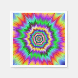 Shockwaves Napkin Paper Napkins